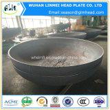 2: 1 protezione di alluminio capa semi ellissoidale dell'estremità del tubo