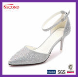 Pink Glitter Lady Fashion Zapatos