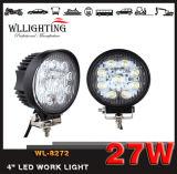 "4 "" Truck/SUV/ATV Wl 8272를 위한 둥근 27W LED 차 일 표시등 막대 (빛을 지도하 일하십시오)"