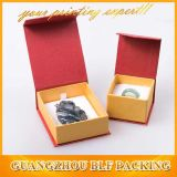Contenitore di monili caldo della carta del cartone del nero di vendita (BLF-GB002)