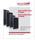 Kristallene Silikon PV-Baugruppen-Polysonnenenergie täfelt System