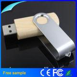 2016 자유로운 출하 USB 2.0 회전대 나무로 되는 저속한 드라이브