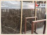 Слябы мрамора цены Китая Emperador темные дешевые