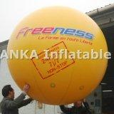 주문을 받아서 만들어진 로고를 가진 팽창식 새 헬륨 PVC 풍선 구체