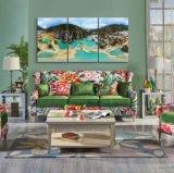ホーム装飾のホテルの壁の芸術の景色の油絵