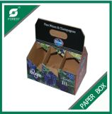 Kundenspezifisches Print Corrugated Wine oder Beer Bottles Package Box