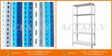 Estante del estante del metal del ángulo de la ranura de las estanterías del ángulo de la calidad de los almacenes