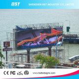 Écran de publicité polychrome extérieur économiseur d'énergie de l'Afficheur LED P16