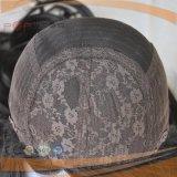 Peruca superior de seda Charming da cor natural preta do cabelo humano de Remy da cutícula