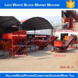 Wt1-25 Interlocking Brick Maker com Raw Earth, Brick e Block Light e Cheap Machinery