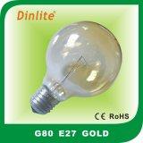 Шарик золота сатинировки Kroko-Льда G80 раскаленный добела