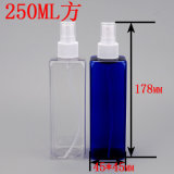 좋은 시장! 250ml/8oz Pet Cosmetic Square Fine Mist Spray Bottle