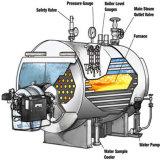 Chaudière à vapeur simple écossée par tube Eau-Allumée de tambours avec 0.7MW