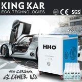 Equipo de la limpieza del motor de coche con el generador de Hho