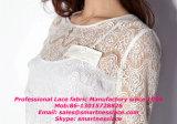 Связанная жаккардом Nylon эластичная ткань шнурка для повелительницы Одежды
