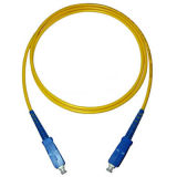 SC/PC-SC/PC 3.0mm 3m Singlemode 9/125 Optical Fiber Patch Cord