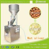 Arachide, amande, machine de découpage en tranches d'abricot, amande, trancheuse Fqp-300 d'abricot