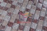 Azulejo de mosaico de cristal agrietado del cristal rosado (CC160)