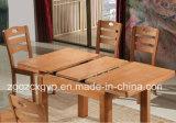 Tabella pranzante della Tabella della Tabella pranzante di legno solido della mobilia di legno della casa