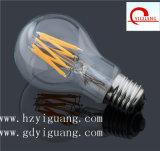 Bulbo ahorro de energía del filamento del LED con Ce