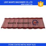 Galvanizzato coprendo strato, mattonelle di tetto rivestite del metallo della pietra variopinta