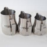 leche del arte de Latte del acero inoxidable 750ml/500ml/350ml que espumejea la jarra