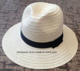 Foldable Panama Paper Straw Hats Caps (CPA_60017)