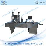 Automatisches Aluminiumfolie-Plastikcup-automatische Heißsiegelfähigkeit-Maschine