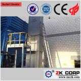 Grande estrazione mineraria di sollevamento dell'elevatore di benna di capienza