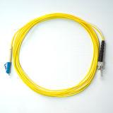 Cavo di zona ottico su un lato della fibra del rivestimento di PVC LC-St MP