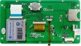 module du TFT LCD 7 '' 800*480 avec l'écran tactile résistif pour les dispositifs industriels