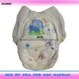 インドネシアのためのよい吸収の安い価格の赤ん坊の動悸のおむつ