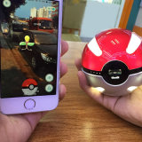 внешний источник питания/крен Pokeball батареи 10000mAh с Pokemon идут конструкция/электрофонарь