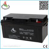 12V 65ahの太陽電池のための手入れ不要の密封された鉛酸蓄電池