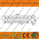42 Road 무겁 의무 떨어져 인치 260W 크리 말 LED Light Bar 4X4, Sut Military, Agriculture, Marine, Mining Light