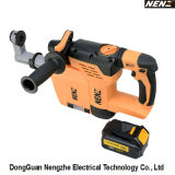 Drilling Concrete (NZ80-01)에 4ah Lithium Cordless Power Tool Used