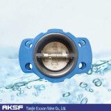 Ferro di Pn10/Pn16/Cast/valvola di ritenuta duttile della cialda del portello di Iron/Wcb/EPDM/NBR/Swing /Dual Plate/Single