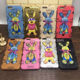Neuer Brand Leather+ Hard PC Rabbit Handy Fall für iPhone6 Scase