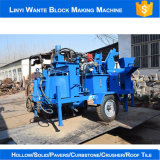 Do cimento automático da argila de Wt2-20m maquinaria de bloqueio de Wante da máquina do tijolo