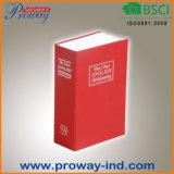 Rectángulo seguro del libro de Deversion del metal con el bloqueo del código (B-S05-MPC)