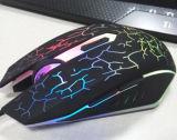 Тип поверхности стыка мышь USB Gamer освещения