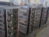 Edelstahl-Gas-Huhnrotisserie-Ofen mit 5 Stiften für Verkauf