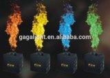 カラー炎プロジェクターDMX512カラー火機械、特殊効果の炎プロジェクター