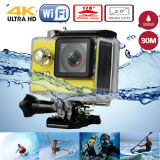 2.0 인치 Waterproof 30m Video Camera H9 Ultra HD 4k Action Camera 170 Degrees Wide Angle WiFi Sports Camera Sj6000