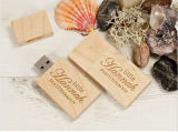 Pen Drive Madeira USB Flash Drive Madeira Pendrive Real Capacity Custom Logo USB Stick Wood Box