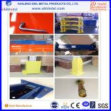 Défilement ligne par ligne métallique populaire de palette de qualité pour la mémoire d'entrepôt