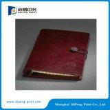 Servicio de impresión del cuaderno de la cubierta de la PU (DP-N001)