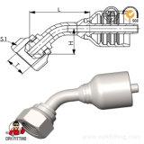 montaggio idraulico del cono femminile 60o di 45o Bsp