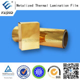 Polyester metallizzato Gold Film per Decoration