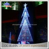 De nieuwe Decoratieve LEIDENE van het Landschap Witte Kerstboom van de Toren